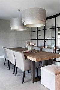 Moderne Esszimmer Lampen : i like de eettafel en lampen stijlvol wonen sanoma regional belgium n v project ~ Markanthonyermac.com Haus und Dekorationen