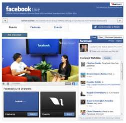 facebook live is now available on the social network s site facebook ...