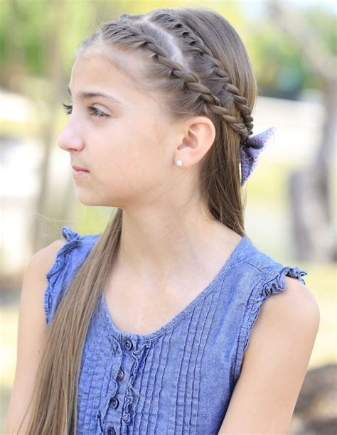 zig zag twistbacks rope braid cute girls hairstyles