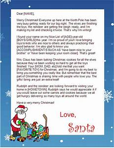10 sites with printable santa letters With letters by santa