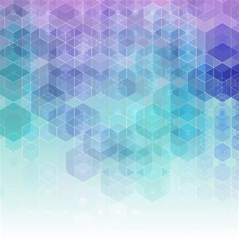 abstract background  blue  purple hexagons vector