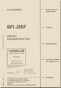 Saab J 35f Aircraft Flight Manual  Speciell