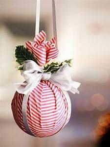 Basteln Mit Stoffresten : bastelideen zu weihnachten dekorieren sie dezent ihr zuhause ~ Lizthompson.info Haus und Dekorationen