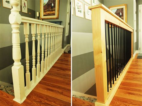 New Banister And Spindles - how to give your stair railings a fresh new look on a