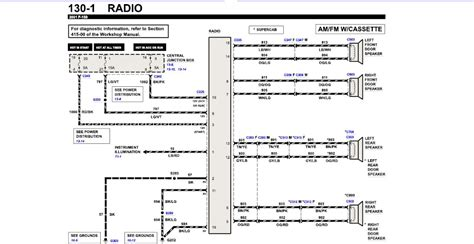 ford      stereo wiring color diagramroad