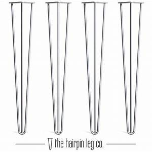 Details About 4x Premium Hairpin Table Legs   Free Screws