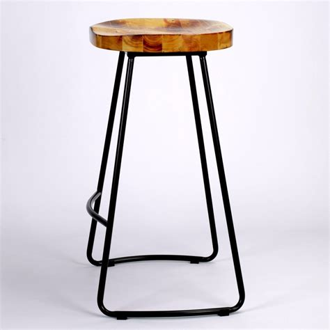 Tractor Seat Bar Stools by Industrial Tractor Seat Style Metal Bar Stool Furniture