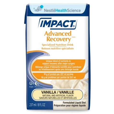 nutritional drinks buy impact advanced recovery nutrition