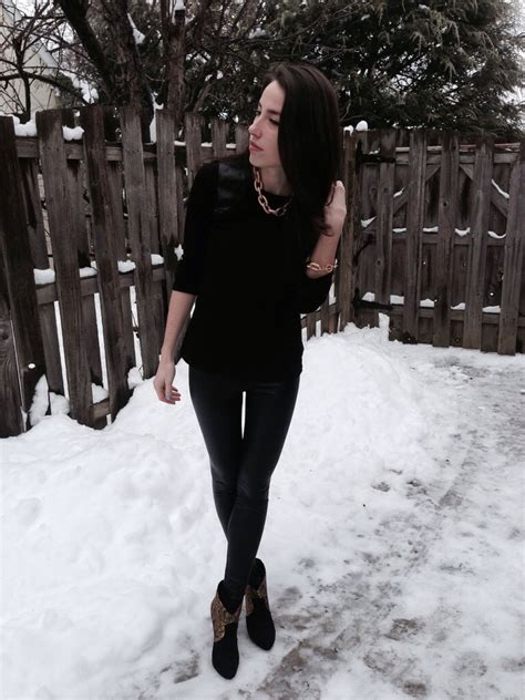 Style a Winter Night Out Look u2013 KMK Style Blog