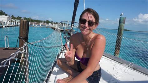 Sailed To Bimini From Miami But Lost The Dinghy Sailing