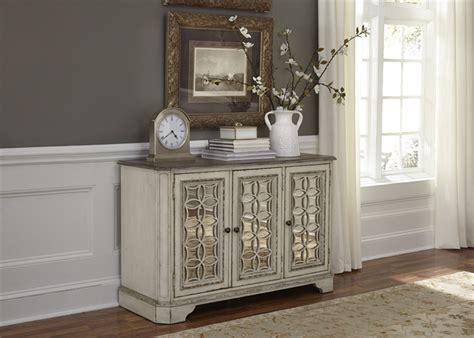 magnolia manor   tv console accent cabinet