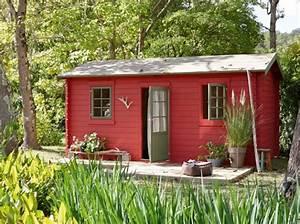 Chalet Bois Leroy Merlin : abri de jardin rouge chalet bois leroy merlin decoraci n exterior pinterest rouge ~ Melissatoandfro.com Idées de Décoration