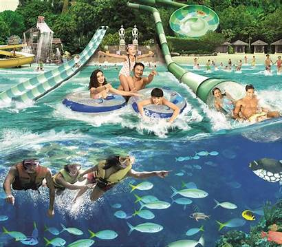 Adventure Cove Waterpark Singapore Omt Water Park