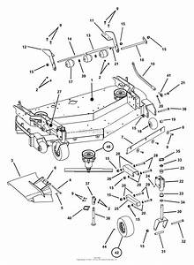 Kubota Mower Deck Belt Diagram