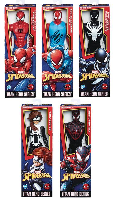 jul spider man titan hero power fx web warriors asst  net previews world
