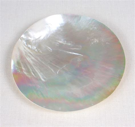 Oyster Shell Mother Of Pearl Dish