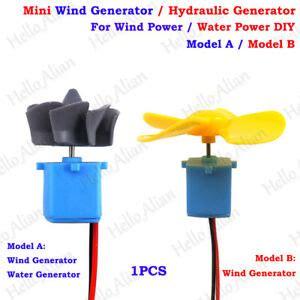 mini wind turbines generator motor hydraulic wasser