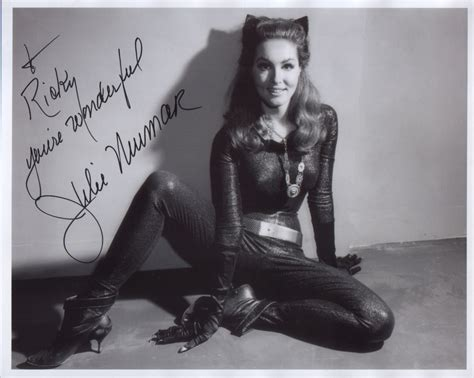 style icon julie newmar as catwoman