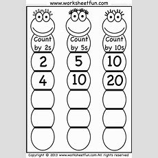 Skip Counting By 2, 5 And 10  Worksheet  Free Printable Worksheets Worksheetfun