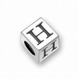pandora block letter h charm best selling jewellery With pandora block letter charms