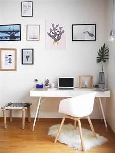Blog deco design diy a propos de tapis mouton mur de for Idee deco cuisine avec deco bureau scandinave