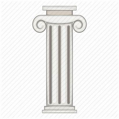 Pillar Clipart Column Plasmid Cartoon Cloning Transparent