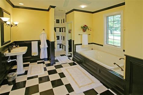 black and yellow bathroom ideas 20 black and yellow bathroom design ideas with pictures
