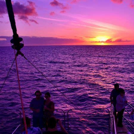 Napali Coast Boat Tour Sunset by Kauai Boat Tours Kauai