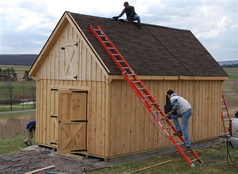 12x20 shed plans how to build diy blueprints pdf download