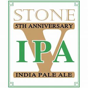20th anniversary encore series stone 5th anniversary ipa With 5th wedding anniversary stone
