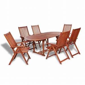 Gartenmöbel Set Sale : der vidaxl 7 tlg gartenm bel set essgruppe holz online shop ~ Whattoseeinmadrid.com Haus und Dekorationen