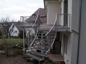 Treppengeländer Außen Holz : treppengel nder au en edelstahl roland berg f rth ~ Michelbontemps.com Haus und Dekorationen