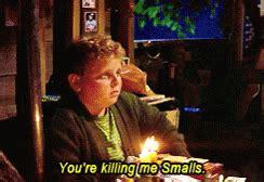 You Re Killin Me Smalls Meme - popular sandlot killin gif sandlot killin smalls discover share gifs