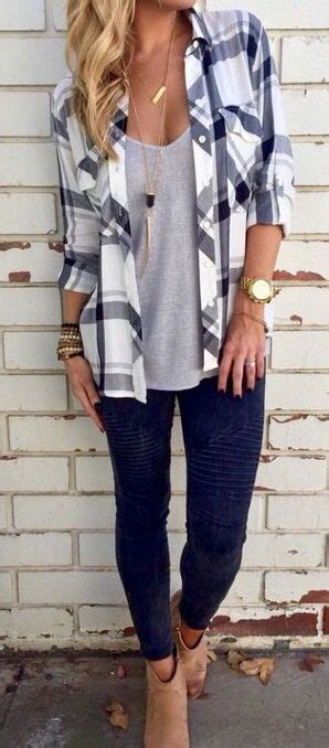 10 Different Ways To Wear The Same Shirt Casual Fall