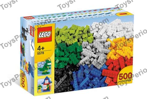 Lego 5578 Lego 500 Piece Box Of Bricks Set Parts Inventory