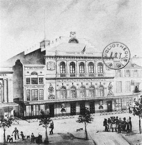 histoire des th 233 226 tres parisiens la restauration et la monarchie de juillet