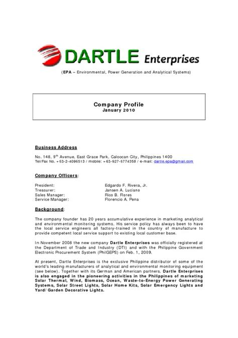 Company Resume Template by Image Result For Construction Company Business Profile