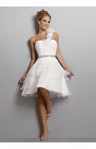 Brautkleid Schlicht Kurz