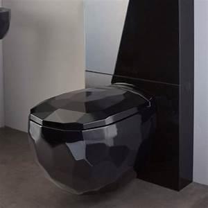 Cuvette Pour Wc Suspendu : cuvette wc suspendu noir maison design ~ Melissatoandfro.com Idées de Décoration