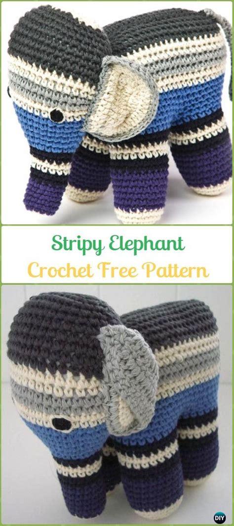 crochet elephant softie    patterns tutorials