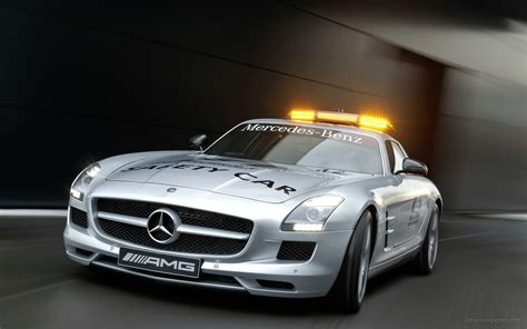 Mercedes BenzCar : 2010 Mercedes Benz Sls Amg F1 Safety Car 3 Wallpaper