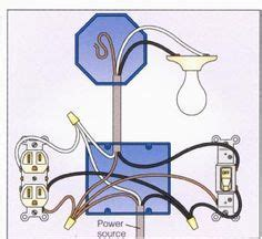 Light With Outlet Way Switch Wiring Diagram Diy Home