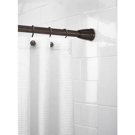 better homes and gardens curtain rods better homes and gardens tapered ez up shower curtain rod