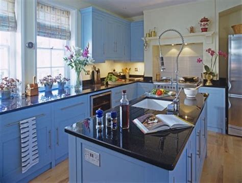 what color for kitchen a periwinkle kitchen would be a happy kitchen house 7034
