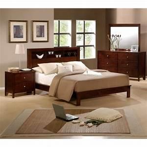 Sonata 5 piece queen size bedroom set by elements for Queen size bedroom set