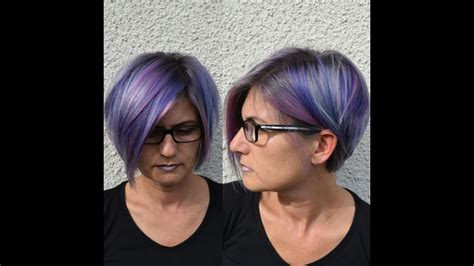 bunte haare a bunte haare lila blaue haare mit pinken gr 252 nen