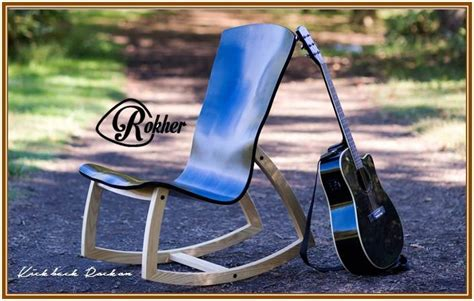 wnc musician launches ergonomic rocking chair for guitar