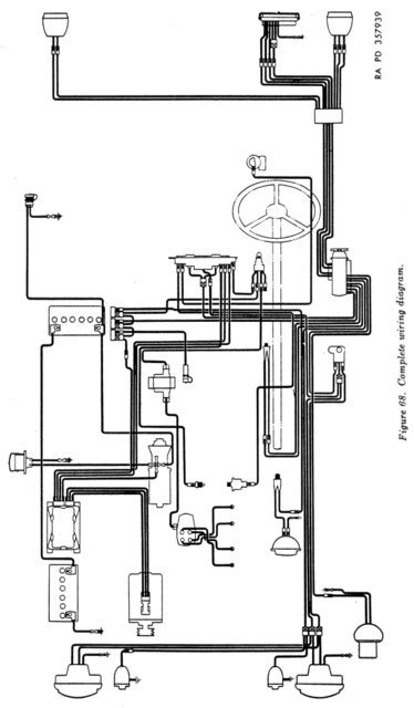 Willy Mb Battery Wire Diagram willys m38 wiring diagram with ignition switch wes k