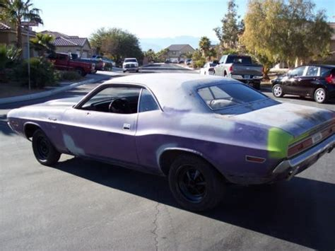 Find used 1970 Dodge Challenger Project, with a 440/ 727