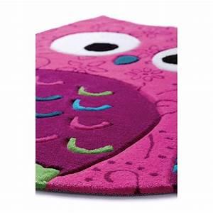 Tapis Chambre Bébé Fille : tapis la petite chouette rose chambre b b par smart kids ~ Teatrodelosmanantiales.com Idées de Décoration